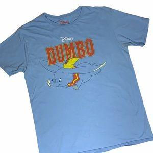 DISNEY Flying Dumbo Short-sleeve Tee SZ L